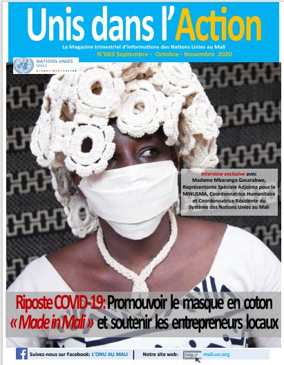 """Magazine """"Unis dans l'action Mali"""" n°3 spécial COVID-19"""