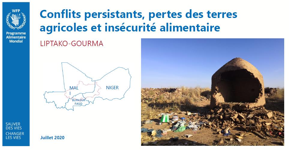 Rapport Conflits persistants, pertes des terres agricoles et insécurité alimentaire au Liptako-Gourma